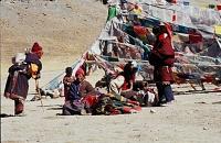 Tibet K posvatne hore Kailas a